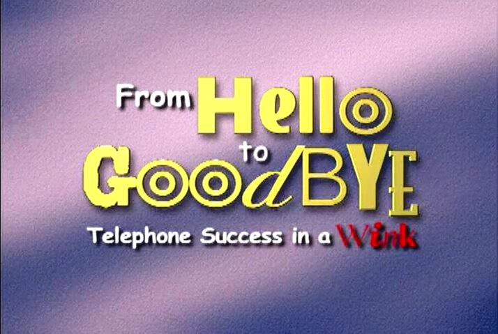 Telephone Success Full Training Video
