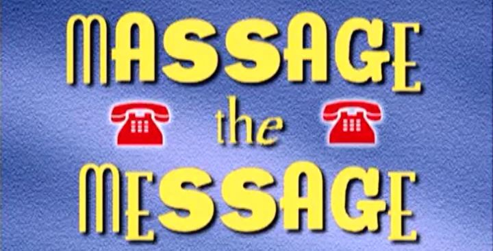 (11) Massage the Message (Leaving and Taking Messages)